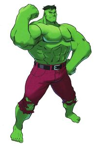Hulk MvC artwork