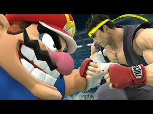 Wario and Ryu