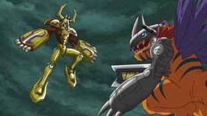 MetallifeKuwagamon vs MetalGreymon