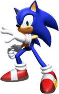 Sonic The Hedgehog in Shadow the Hedgehog (Video Game)