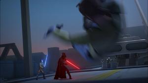 Vader tossing