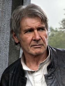 Han Solo in Star Wars- The Force Awakens