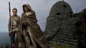 Star Wars The Last Jedi - Luke and Rey