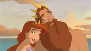 Athena and Triton