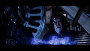 Darth Vader lightning