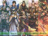 Five Tiger Generals of Shu