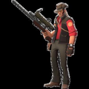 Red Sniper Fullbody