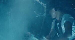 Ripley saves Newt