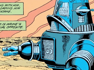 Robby the Robot in Super Friends Comic Book
