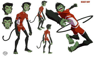 Young justice beast boy by phillybee-d4yus4y