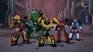 Bee Team won (Combiner Force Final)