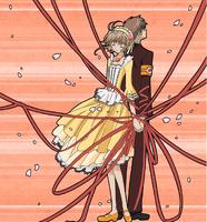 Princess Sakura x Syaoran's red string of fate love