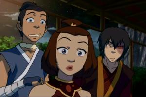 Sokka, Suki and Zuko