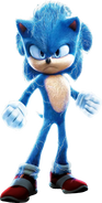 Sonic the Hedgehog (Paramount) (Electricity-Amped)