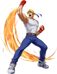 Streets of Rage - Axal Stone as seen in Project X Zone 2
