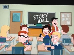 Students are at the Study Hall