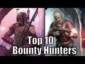 Top 10 Bounty Hunters (Results) - Star Wars Top Tens