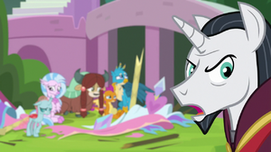 Chancellor Neighsay 'those are students! ' S8E1