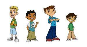 Maya & Miguel Boy Characters