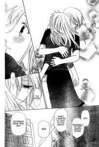 Yuki hugs Machi