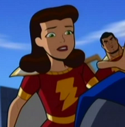 Mary Marvel in Batman the Brave and the Bold