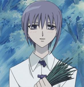 Yuki happy at Tohru