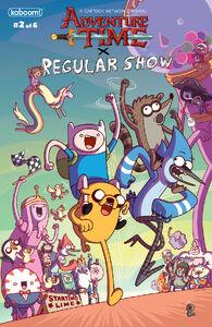 Adventure Time X Regular Show 2
