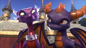 Cynder and Spyro (Skylanders Academy)