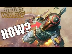How Boba Fett got his Iconic Dent + the Fate of Cad Bane? – Unreleased Clone Wars footage