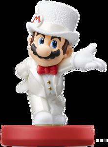 Mario Wedding Amiibo Artwork