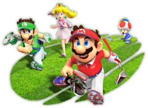 Mario and Friends Speed Golf