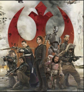 Members of Rogue One