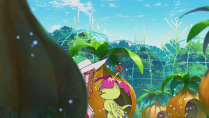 Mimi and Palmon in end of Episode 5