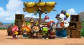 Pororo and friends pirates