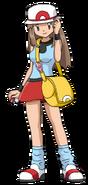 Leaf pokemon anime artwork