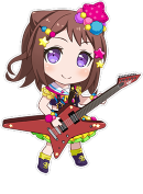 Poppin' Colors! (Toyama Kasumi) Normal Chibi