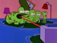 The Simpsons frogs