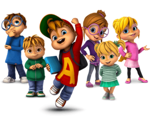 The chipmunks and the chipettes