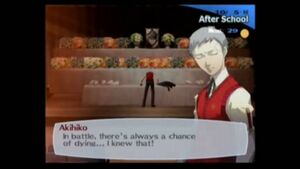 Akihiko's resolution