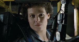 Ellen Ripley close-up