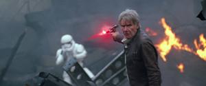Han not looking -TFA