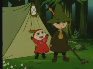 Little My and Snufkin (Aunt Jane)