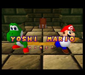 Mario party 64 yoshi and mario