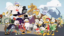 McDuck Family and their friends