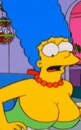 Marge Simpson's big boobs