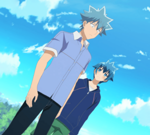 Seiji and Aqua Aino Stitched Cap (Love Tyrant Ep 7)