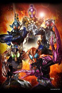 Kamen Rider OOO new forms