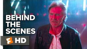 Star Wars The Force Awakens Behind the Scenes - Han and Ben Commentary (2016) - Harrison Ford Movie