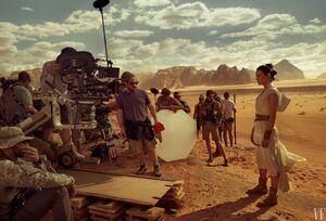Behind the scenes -TROS