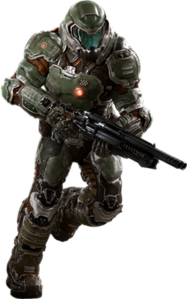 Doomguy (Doom 2016)